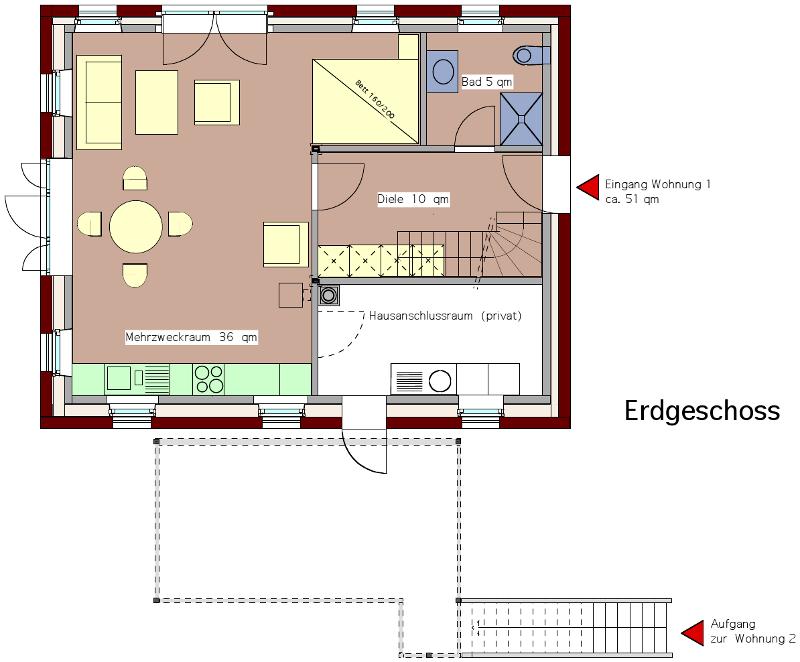 wohnungen ferienhaus sonnenberg. Black Bedroom Furniture Sets. Home Design Ideas